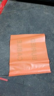 CTG Orange Safety Buried Cable Flag
