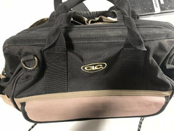 """Custom Leather Craft 1139(15""""_TRAY-TOTE) with clear case"""