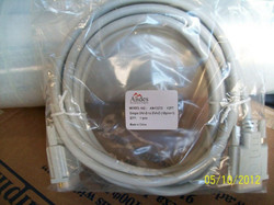 DVI-D Male To DVI-D Male Single Link Digital Video Cable 12ft Ivory