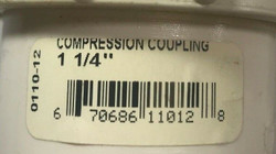 Flo-Control 0110-12 Compression Coupling PVC