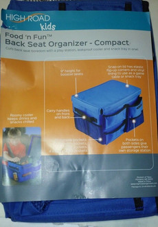 Food n Fun Back Seat Organizer-BLUE