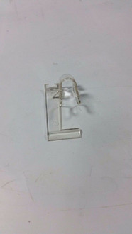 ITW Fastex 50pc Clear Vertical Vinyl Siding Cable Clip Part# 114366