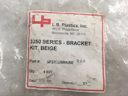 L.B. Plastics 3250 Series Bracket Kit, Beige