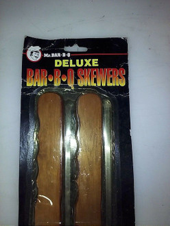 MR. BAR-B-Q DELUXE BAR-B-Q SKEWERS #02044 BRAND NEW