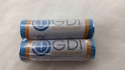 New 2 PCS AA 1.5V GDI Zinc Carbon Batteries Fast Shipping!!! Low priced!