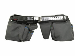 Perfect Vision 8 Pouch Heavy Duty Tool Belt W/ load bearing suspenders PVTLBLT
