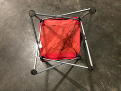 "Red Portable Folding Picnic Chair (no bag) (29"" x 20"")"