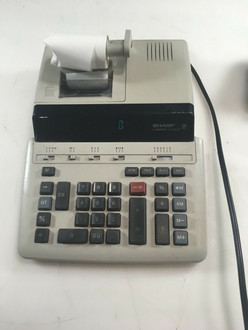 Sharp Compet VX-2652B 12 Digit Electric Printing Desk Calculator