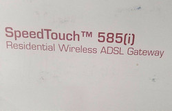 Thomson Speedtouch 585 i DSL Router/Modem Ships Fast!!!