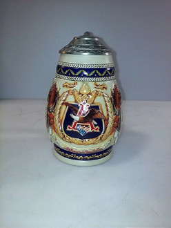 Vintage Anheuser Busch 1997 Budweiser Membership Stein CB5 Pride and Tradition