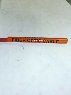 Warning Buried Fiber Optic Cable Wrappers BUDCO-62-1 25 PACK