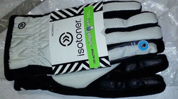 Womens White Isotoner Smart Touch gloves. M/L. Brand New