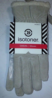 Womens Camel Isotoner Casual gloves. M. Brand New