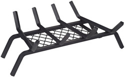 Simple Spaces Fireplace Grate, 11 In W X 18 In D X 5-5/8 In H