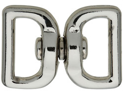 National Hardware 3138BC Series N222-950 Chain Swivel, 1 in Trade, 55 lb Working Load, Zinc, Nickel
