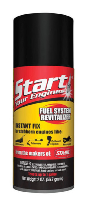 Fuel System Revitalizer and Starter Fluid for 2 and 4 Cycle