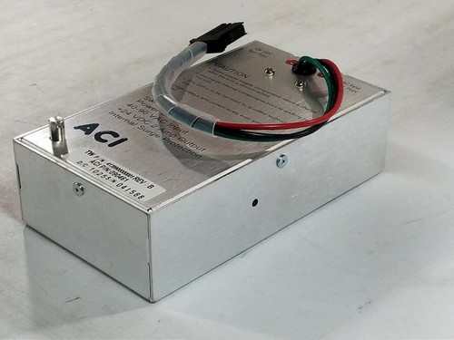 ACI 090461 Power Supply 40-90 VAC Input 24VDC 2 Amp Output