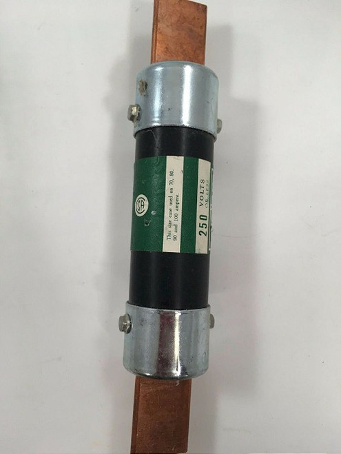 1pc. Buss NON-70 One-Time Fuse, 70A, 250V, Class H