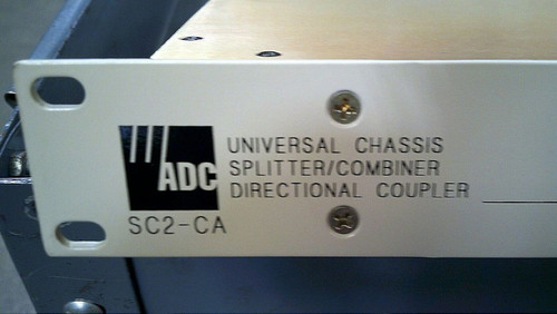 ADC SC2-CA UNIVERSAL CHASSIS SPLITTER/ COMBINER DIRECTIONAL COUPLER