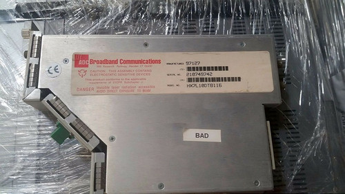 ADC Video Systems HX7L10DTB116 Fiber Optic Receiver