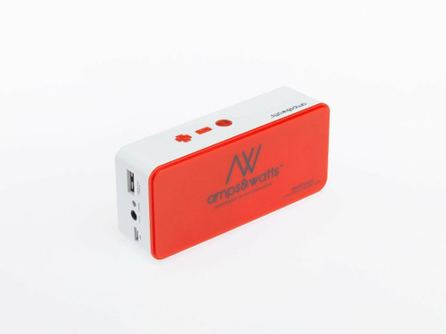 Bluetooth Wireless Portable Speaker with Power Bank and Mic Red US Seller!