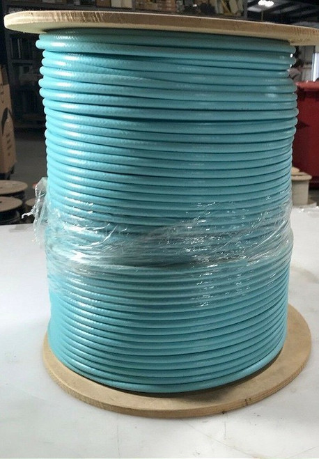 Commscope 1000 ft Cable F59HEC-2VV Aqua