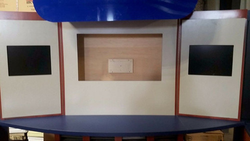 Custom Cabinet Style Multi-piece Exhibit Booth