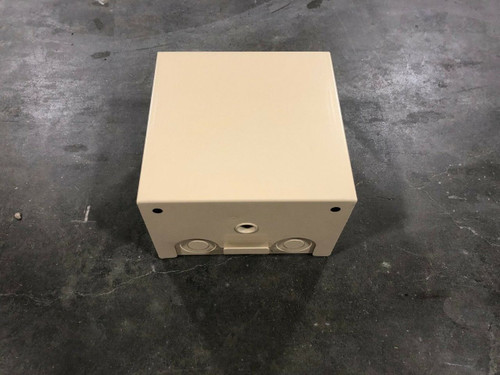 "Diversified H121208-1006-BSW Security Box (12"" x 12"" x 8"") NO KEY"