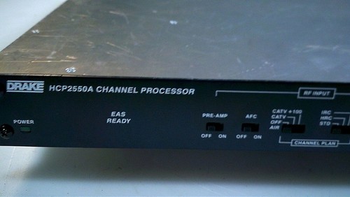 Drake Channel Processor HCP2550A FAST SHIPPING!!!!