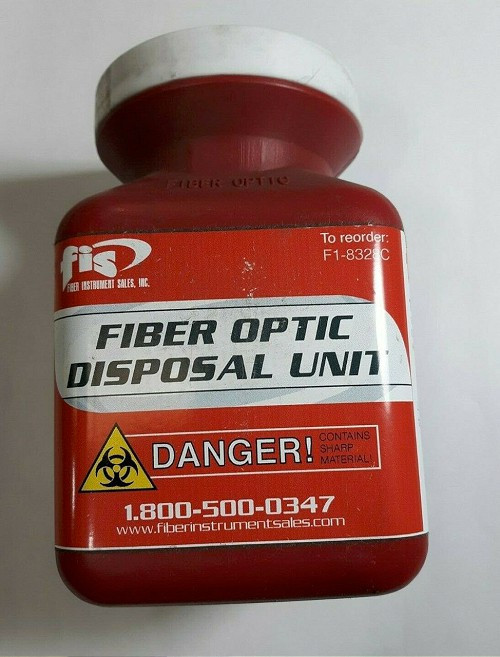 Fiber Optic Disposal Bottle