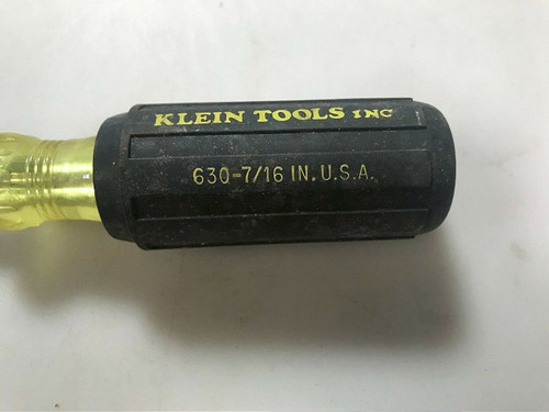 Klein Tools 630-7/16 in Nut Driver