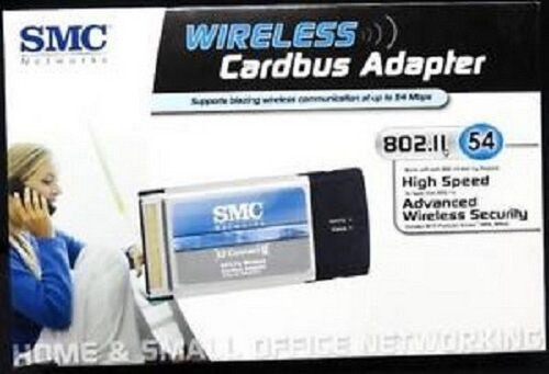NEW SMC WIRELESS Cardbus Adapter 802.11g SMCWCB-G LOW PRICE!!!