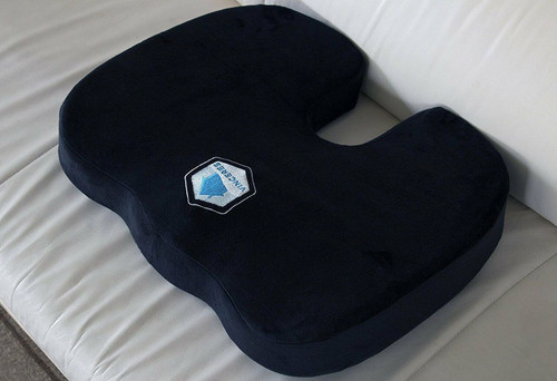 Premier Orthopedic Seat Cushion Gel Memory Foam w/ BONUS Cover Fast Shipping!!!