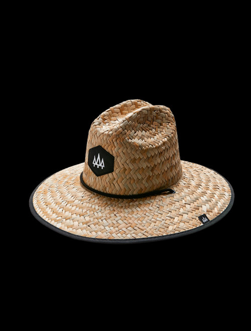 Blackout Straw Hat