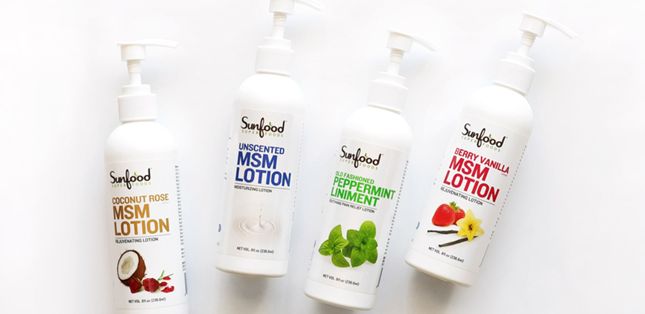 MSM Lotions