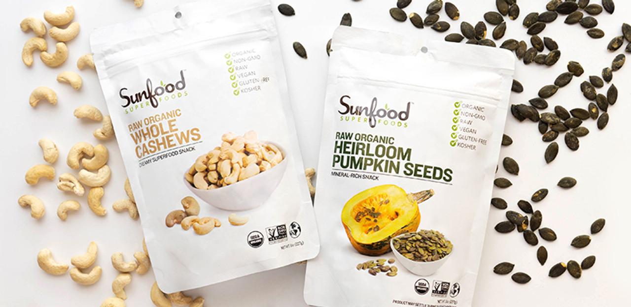 Nuts, Seeds, Snacks