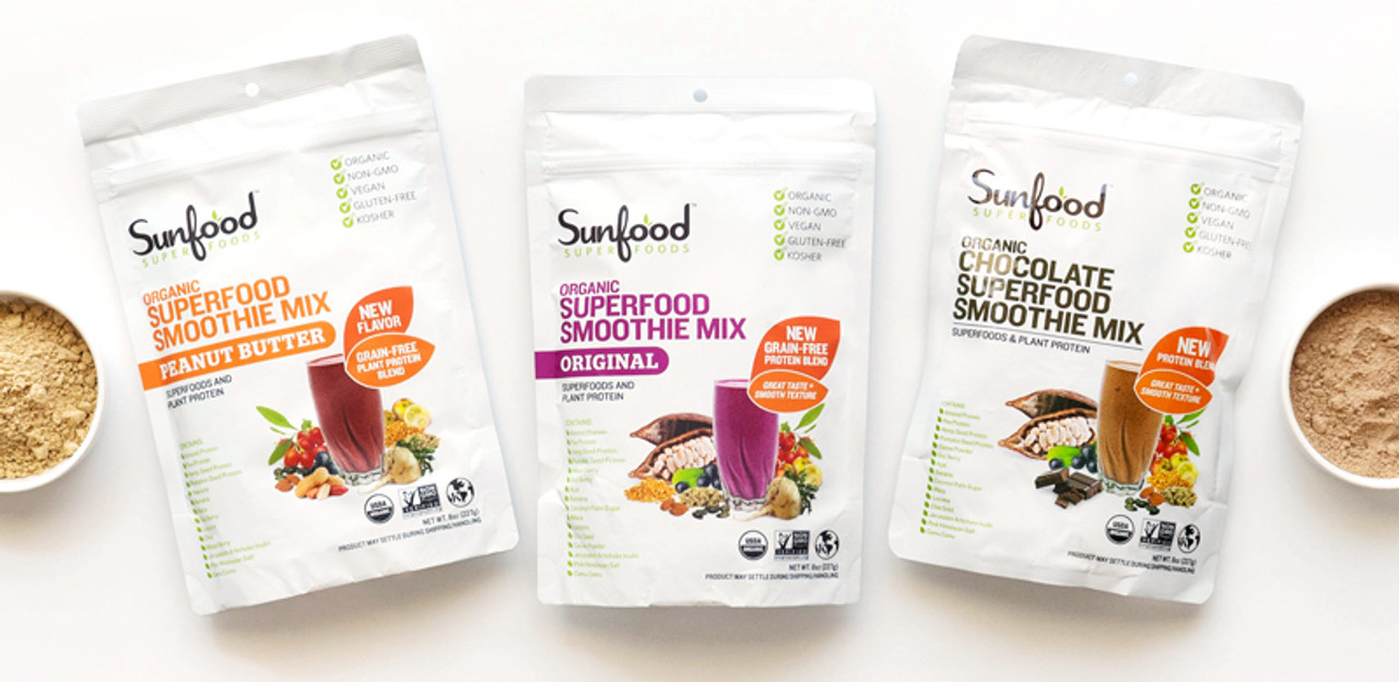 Superfood Smoothie Mixes