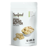 Cacao Butter, 1lb, Organic - Front