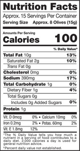Olives, Black Botija, Pitted, 8oz, Organic, Raw - Nutrition Facts
