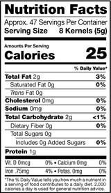 Apricot Kernels, Sweet, 8oz, Organic Nutrition Facts