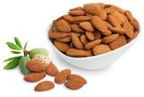 Almonds, Shelled, 8oz, Organic, Raw - Bowl