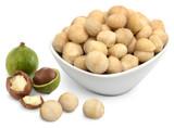 Macadamia Nuts, 8oz, Organic, Raw - Bowl
