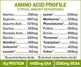 Hemp Protein, 8oz, Organic, Raw Amino Acid Profile