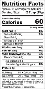 Acai Maqui Bowl Mix, 6oz, Organic - Nutrition Facts