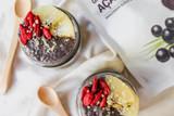 Açaí Chia Seed Pudding
