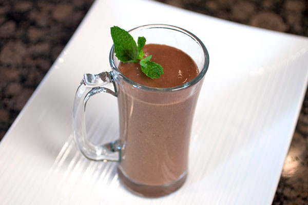 Peppermint Cacao Smoothie