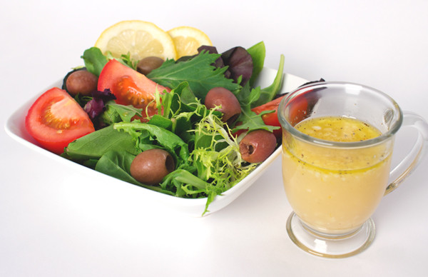 Citrus Spring Salad with Dressing