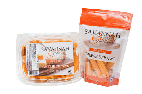 Savannah Grace Hot and Spicy Cheese Straws