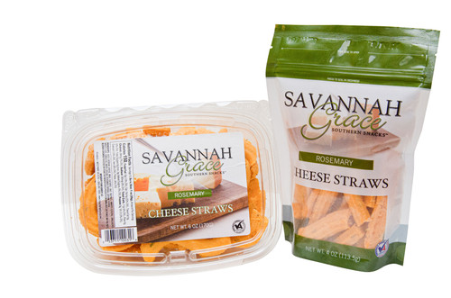 Savannah Grace Rosemary Cheese Straws