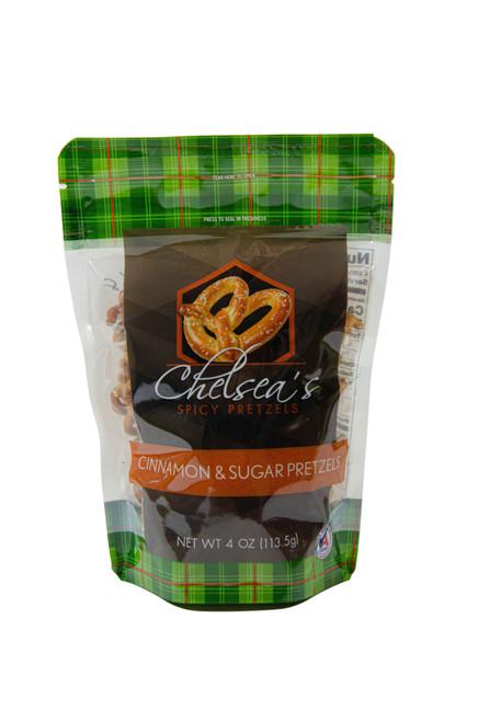 Chelsea's Cinnamon Sugar Spicy Pretzels